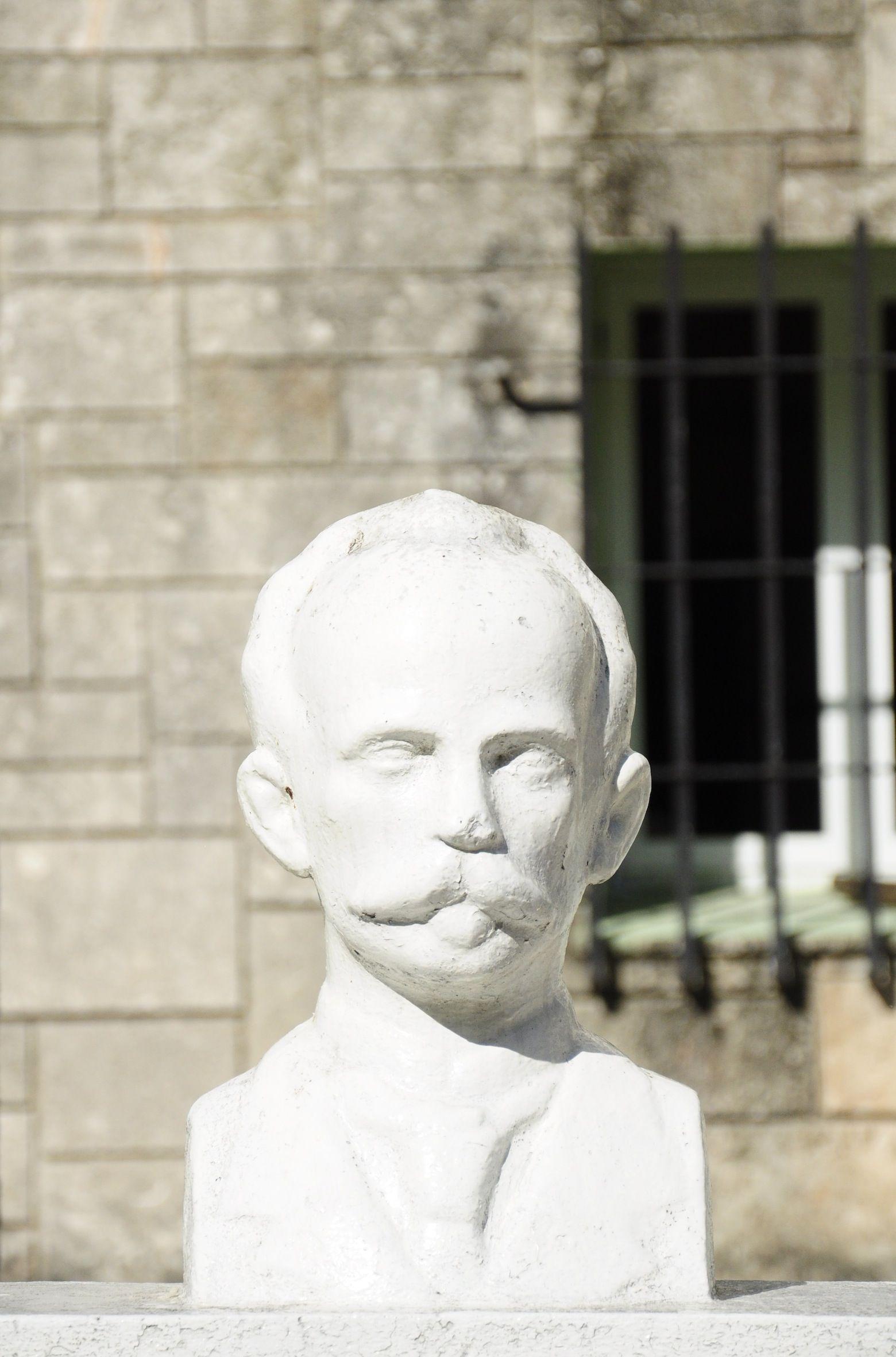 Ziert Schulen im ganzen Land: Die Büste des Nationalhelden José Martí